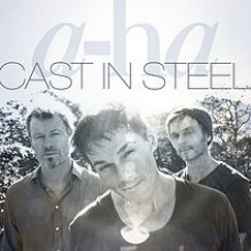 "LP A-HA ""CAST IN STEEL"""