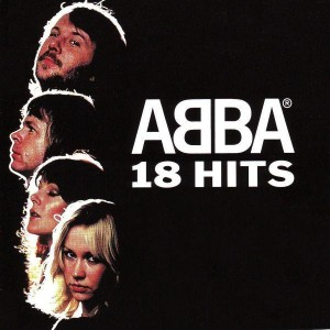 "CD ABBA ""18 HITS"""