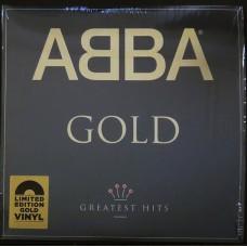 """LP ABBA """"GOLD"""" (2LP)  GOLD VINYL"""