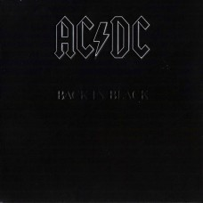 "CD AC/DC ""BACK IN BLACK"""