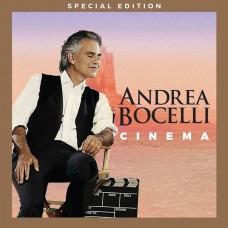 """CD ANDREA BOCELLI """"CINEMA"""" (CD+DVD)"""