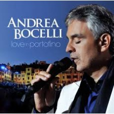 "CD ANDREA BOCELLI ""LOVE IN PORTOFINO"""
