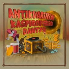 """CD ANTIKVARINIAI KAŠPIROVSKIO DANTYS """"ANTIKVARINIAI KAŠPIROVSKIO DANTYS"""""""