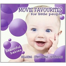 "CD BEAUTIFUL BABIES ""MOVIE FAVOURITES FOR LITTLE PEOPLE"""