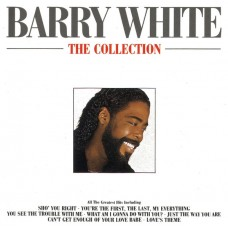 """CD BARRY WHITE """"THE COLLECTION"""""""