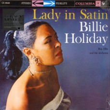 """LP BILLIE HOLIDAY """"LADY IN SATIN"""""""