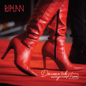 "CD BIPLAN ""DŽIAZE TIK MERGINOS - LIVE"""