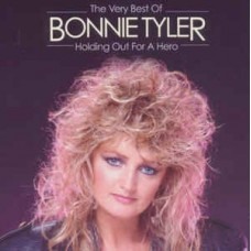 "CD BONNIE TYLER ""HOLDING OUT FOR A HERO. THE VERY BEST OF"""