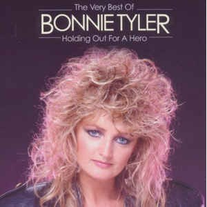 """CD BONNIE TYLER """"HOLDING OUT FOR A HERO. THE VERY BEST OF"""""""