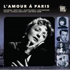 "LP COMPLETE VINYL COLLECTION ""L'AMOUR A PARIS"" ***** PAŽEISTA POLIGRAFIJA"