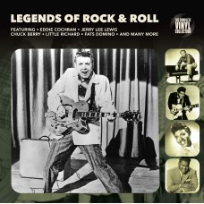 "LP COMPLETE VINYL COLLECTION ""LEGENDS OF ROCK'N'ROLL"""