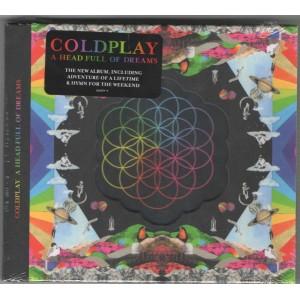 "CD COLDPLAY ""A HEAD FULL OF DREAMS"""