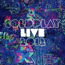"CD COLDPLAY ""LIVE 2012"" (CD+DVD)"