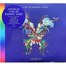 "CD COLDPLAY ""LIVE IN BUENOS AIRES"" (2CD)"