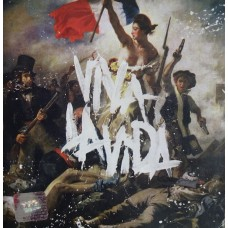 "CD COLDPLAY ""VIVA LA VIDA OR DEATH OF ALL HIS FRIENDS"""