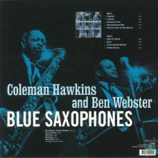 """LP COLEMAN HAWKINS AND BEN WEBSTER """"BLUE SAXOPHONES"""""""