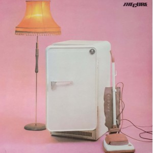 "LP THE CURE ""THREE IMAGINARY BOYS"""