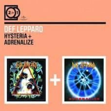 "CD DEF LEPPARD ""HYSTERIA+ADRENALIZE"" (2CD)"