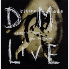 """CD DEPECHE MODE """"SONGS OF FAITH AND DEVOTION LIVE"""""""