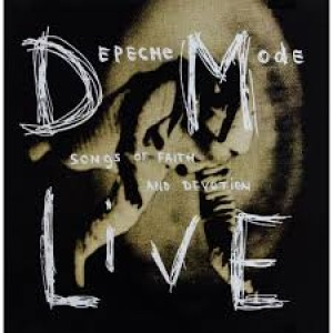 "CD DEPECHE MODE ""SONGS OF FAITH AND DEVOTION LIVE"""