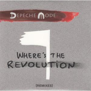 "LP DEPECHE MODE ""WHERE'S THE REVOLUTION"" (REMIXES) (2LP)"