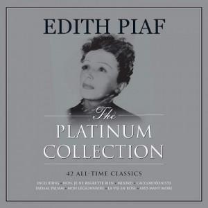 "LP EDITH PIAF ""THE PLATINUM COLLECTION"" (3LP) ***** PAŽEISTA POLIGRAFIJA"