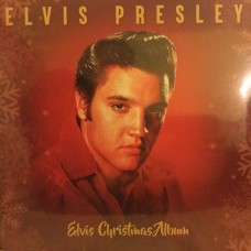 "LP ELVIS PRESLEY ""ELVIS CHRISTMAS ALBUM"" ***** PAŽEISTA POLIGRAFIJA"