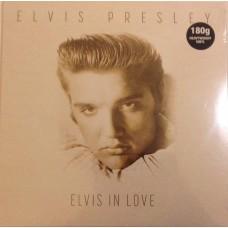 """LP ELVIS PRESLEY """"ELVIS IN LOVE"""" ***** PAŽEISTA POLIGRAFIJA"""