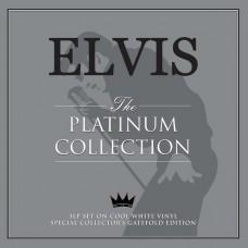 "LP ELVIS PRESLEY ""THE PLATINUM COLLECTION"" (3LP) ***** PAŽEISTA POLIGRAFIJA"