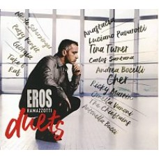 "CD EROS RAMAZZOTTI ""EROS DUETS"""