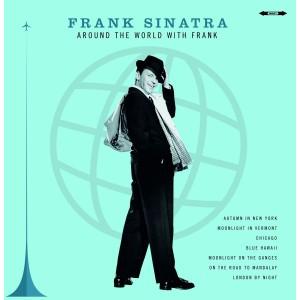 """LP FRANK SINATRA """"AROUND THE WORLD WITH SINATRA"""" ***** PAŽEISTA POLIGRAFIJA"""