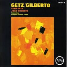 """CD STAN GETZ / JOAO GILBERTO """"GETZ / GILBERTO"""""""