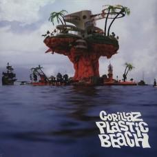 """LP GORILLAZ """"PLASTIC BEACH"""" (2LP)"""