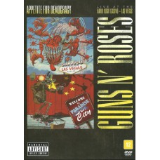 "DVD GUNS N' ROSES ""APPETITE FOR DEMOCRACY. LIVE AT THE HARD ROCK CASINO LAS VEGAS"""