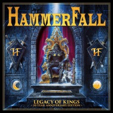 "CD HAMMERFALL ""LEGACY OF KINGS"" 20 YEAR ANNIVERSARY EDITION (2CD + DVD)"