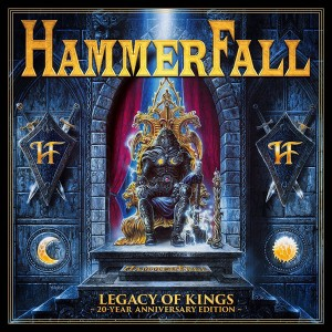 "CD HAMMERFALL ""LEGACY OF KINGS"" 20 YEAR ANNIVERSARY EDITION (2CD + DVD)"