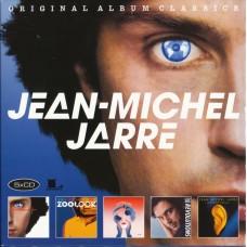 """CD JEAN-MICHEL JARRE """"ORIGINAL ALBUM CLASSICS""""(5.CD)"""