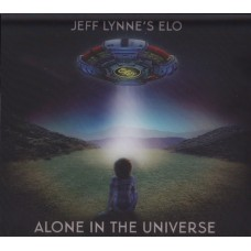 """CD JEFF LYNNES'S ELO """"ALONE IN THE UNIVERSE"""" DLX"""