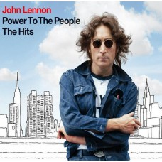 """CD JOHN LENNON """"POWER TO THE PEOPLE. THE HITS"""""""