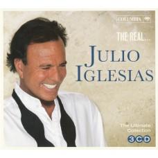 "CD JULIO IGLESIAS ""THE REAL... JULIO IGLESIAS"" (3CD)"