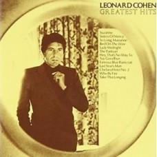 "LP LEONARD COHEN ""GREATEST HITS"""