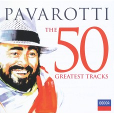 "CD LUCIANO PAVAROTTI ""THE 50 GREATEST TRACKS"" (2CD)"