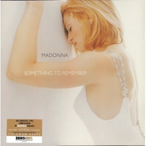 "LP MADONNA ""SOMETHING TO REMEMBER"""
