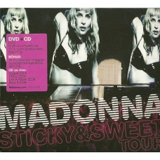 "CD MADONNA ""STICKY & SWEET TOUR"" (CD+DVD)"