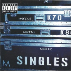 """CD MAROON 5 """"SINGLES"""""""