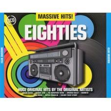 CD MASSIVE HITS. EIGHTIES (3 CD)