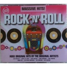 CD MASSIVE HITS. ROCK 'N' ROLL (3 CD)