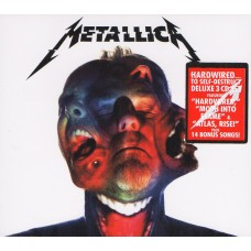 "CD METALLICA ""HARDWIRED... TO SELF-DESTRUCT"" (3CD)"