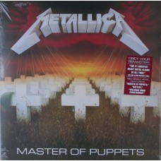 "LP METALLICA ""MASTER OF PUPPETS"""