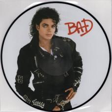"""LP MICHAEL JACKSON """"BAD"""" PICTURE DISK"""